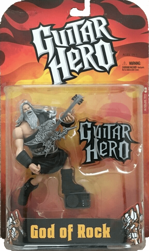 McFarlane Guitar Hero God of Rock Black Toga Figure