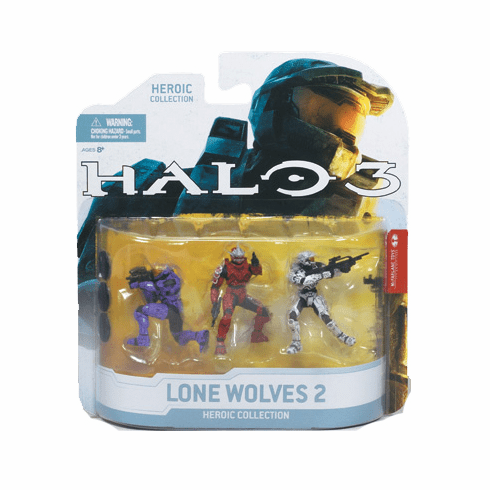 McFarlane Halo 3 Lone Wolves Pack 2
