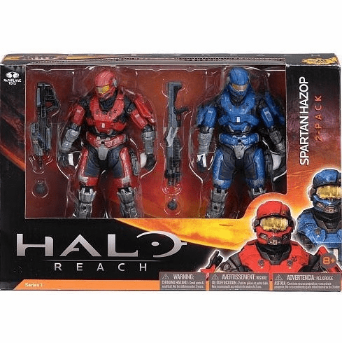 McFarlane Halo Reach Spartan Hazop 2 Pack Figure Set