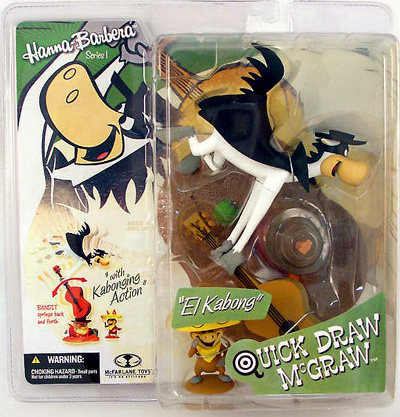 McFarlane Hanna-Barbera Quick Draw McGraw Figure