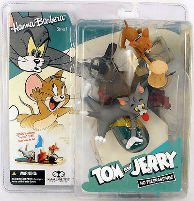 McFarlane Hanna-Barbera Tom & Jerry No Trespassing Figure