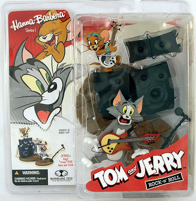 McFarlane Hanna-Barbera Tom & Jerry Rock 'N' Roll Figure