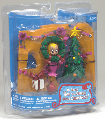 McFarlane How the Grinch Stole Christmas Cindy Lou Who Figure