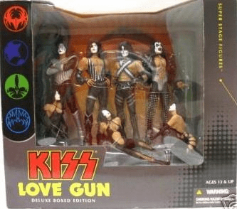 McFarlane KISS Love Gun Stage Box Set