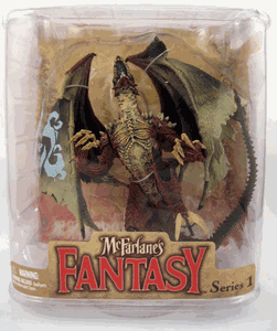McFarlane Legend of the Bladehunters Eternal Dragon Windgard Figure
