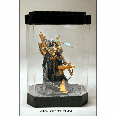 McFarlane Lighted Fishtank Display Case Fish Tank