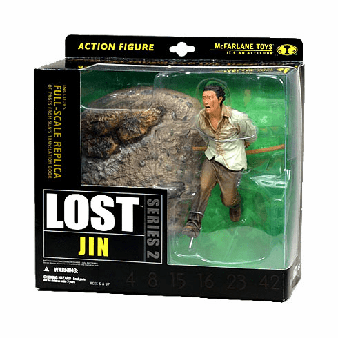 McFarlane Lost Series 2 Jin Action Figure with Sound