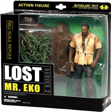 McFarlane Lost Series 2 Mr. Eko Figure