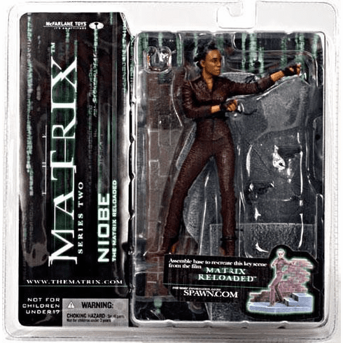 McFarlane Matrix Reloaded Series 2 Niobe Figure
