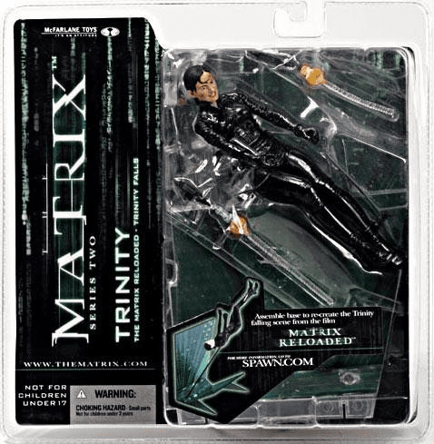 McFarlane Matrix Reloaded Series 2 Trinity Figure