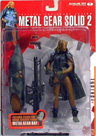 McFarlane Metal Gear Solid 2 Fortune Figure