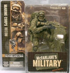 McFarlane Military Marine Corps Recon African American Figure