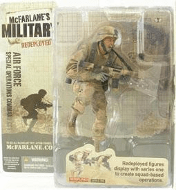 McFarlane Military Redeployed Air Force Special Ops Cmd Caucasian