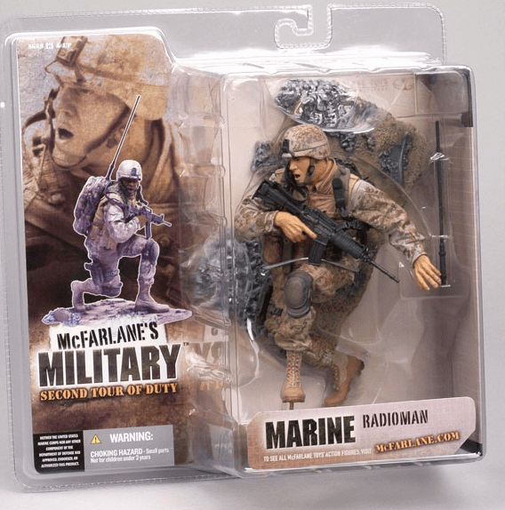 McFarlane Military Second Tour of Duty Marine Radioman Figure