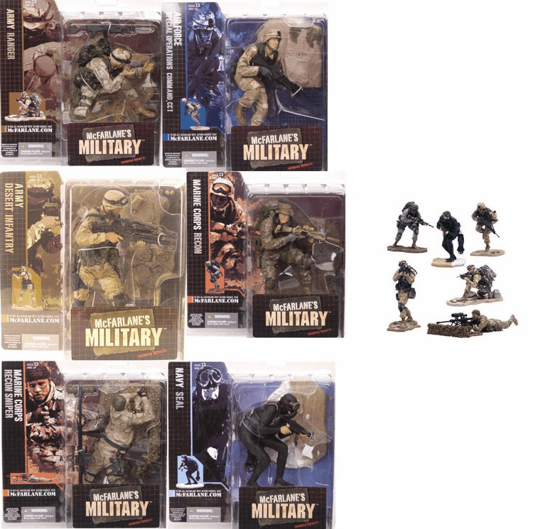 McFarlane Military Series 1 Figure Set