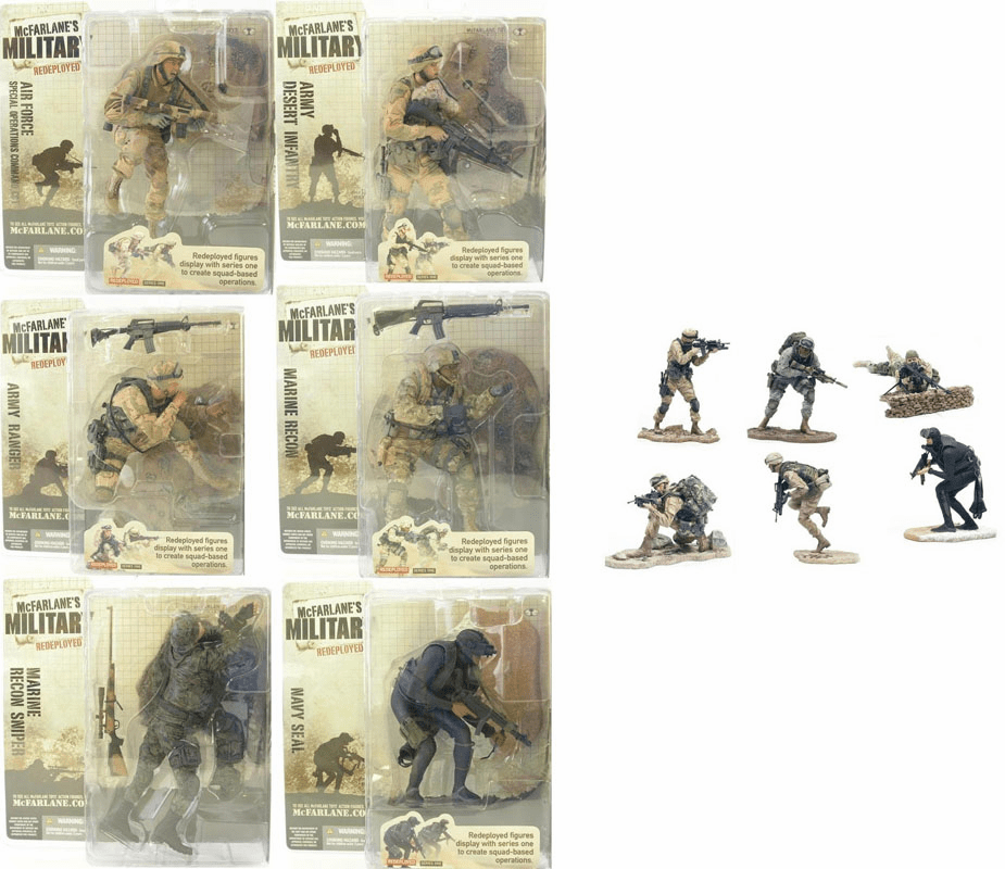 McFarlane Military Series 1 Redeployed Figure Set