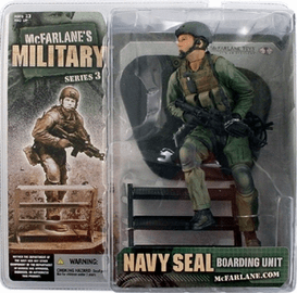 McFarlane Military Series 3 Navy Seal Boarding Unit Caucasian Figure
