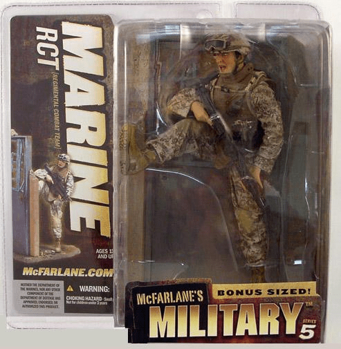 McFarlane Military Series 5 Marine RCT Figure