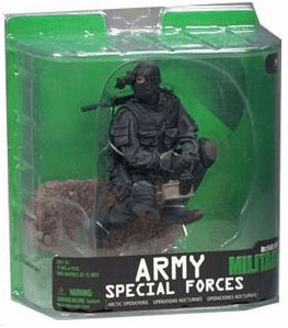 McFarlane Military Series 7 Army Special Forces Night Ops Figure