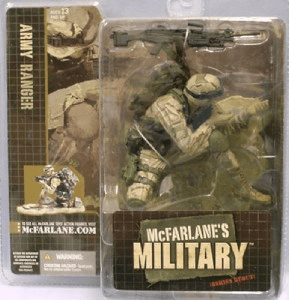 McFarlane Military Series Debut Army Ranger African American Figure