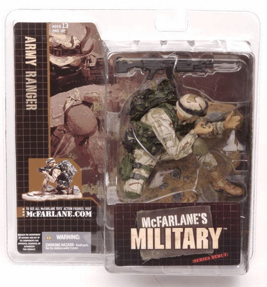 McFarlane Military Series Debut Army Ranger Caucasian Figure