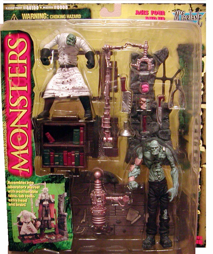 McFarlane Monsters Frankenstein Playset