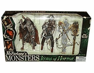 McFarlane Monsters Icons of Horror 3 Figure Box Set