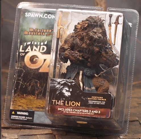 McFarlane Monsters Series 2 Twisted Land of Oz Lion Figure
