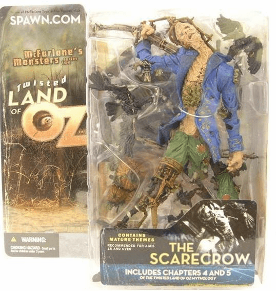 McFarlane Monsters Series 2 Twisted Land of Oz The Scarecrow Figure