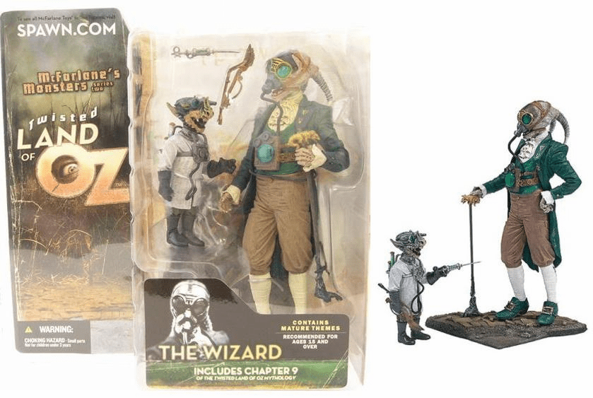 McFarlane Monsters Series 2 Twisted Land of Oz The Wizard Figure
