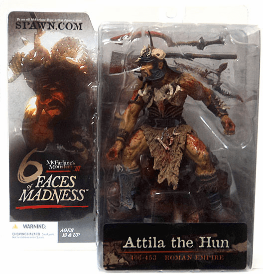McFarlane Monsters Series 3 Six Faces of Madness Attila The Hun Figure