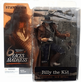McFarlane Monsters Series 3 Six Faces of Madness Billy the Kid Figure