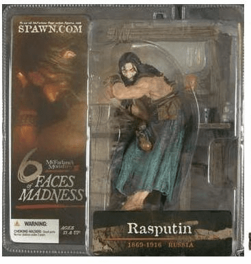 McFarlane Monsters Series 3 Six Faces of Madness Rasputin Figure