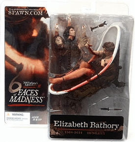 McFarlane Monsters Six Faces of Madness Elizabeth Bathory Figure