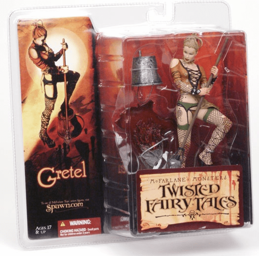 McFarlane Monsters Twisted Fairy Tales Gretel Figure