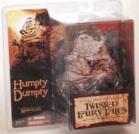 McFarlane Monsters Twisted Fairy Tales Humpty Dumpty Figure