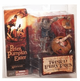 McFarlane Monsters Twisted Fairy Tales Peter Pumpkin Eater Figure