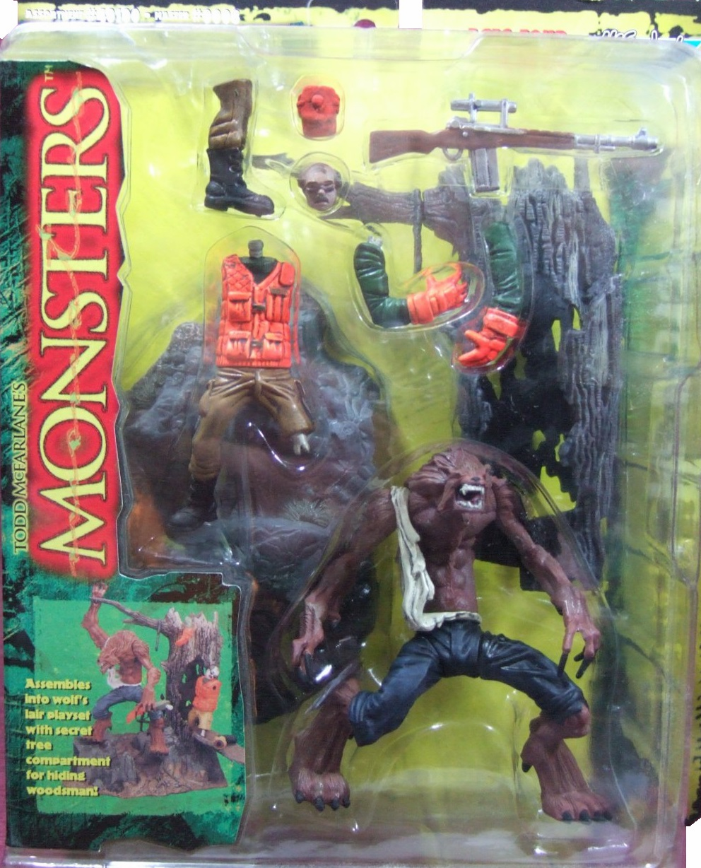McFarlane Monsters Werewolf Playset