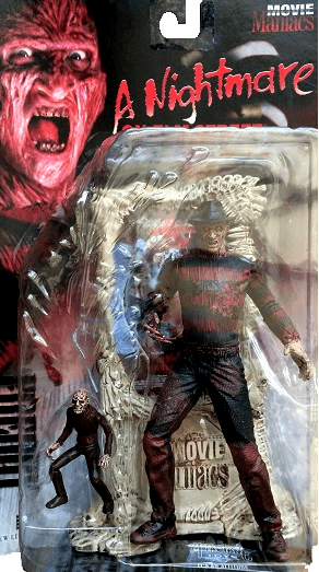 McFarlane Movie Maniacs 1 Freddy Krueger Bloody Variant Figure