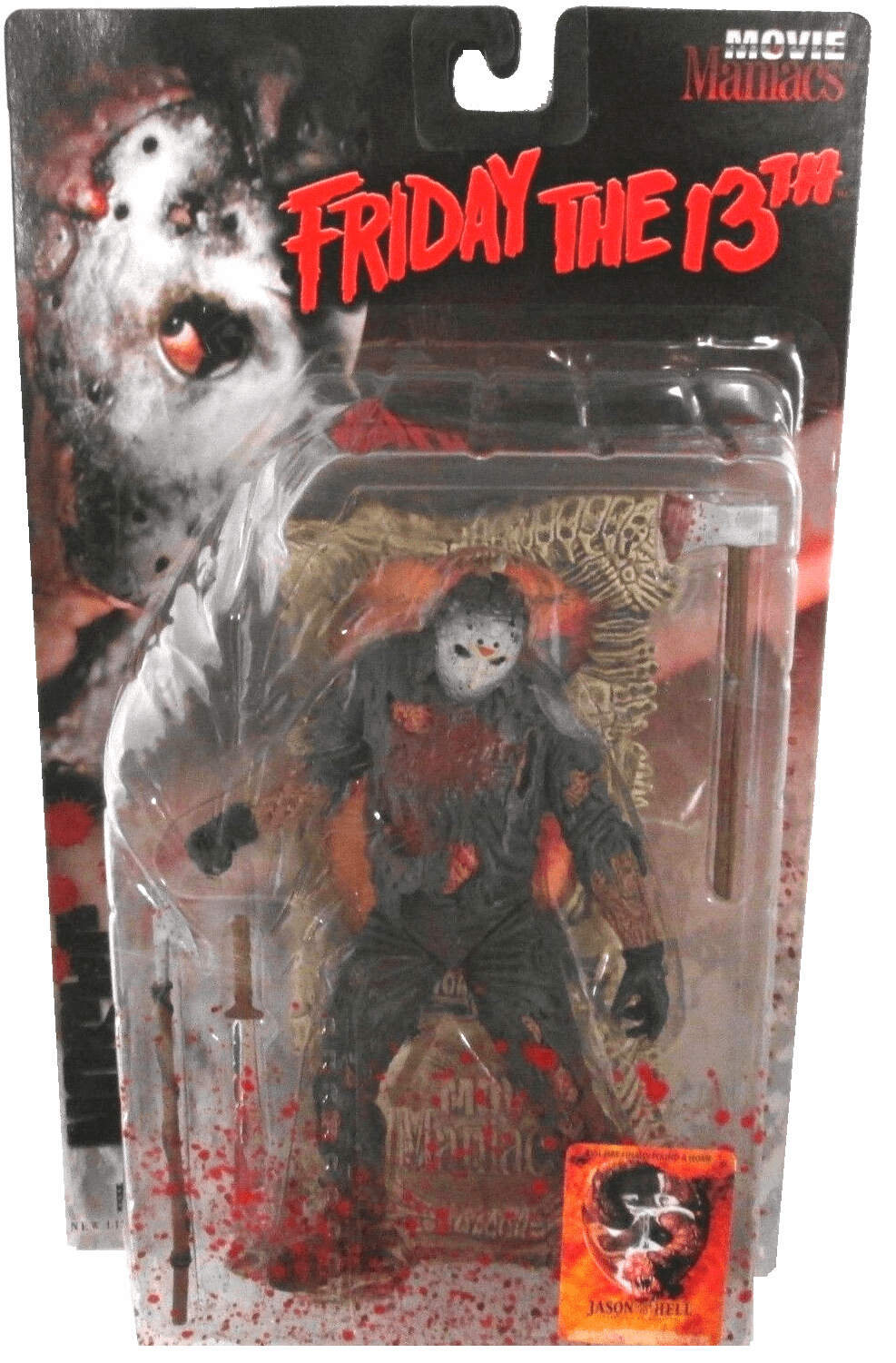 McFarlane Movie Maniacs 1 Jason Voorhees Variant Figure