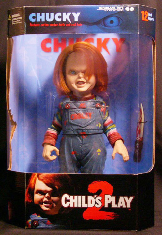 McFarlane Movie Maniacs 2 Child's Play 2 Deluxe Chucky Figure