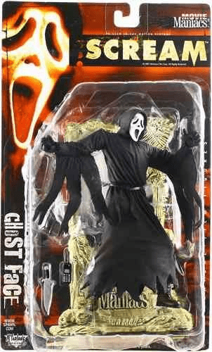 McFarlane Movie Maniacs 2 Scream Ghost Face Figure