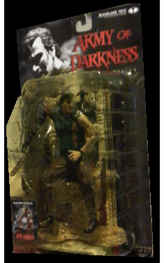 McFarlane Movie Maniacs 3 Army of Darkness Ash Figure