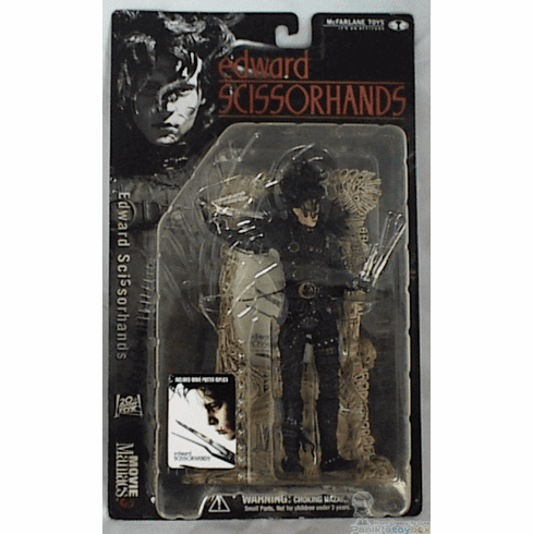 McFarlane Movie Maniacs 3 Edward Scissorhands Figure