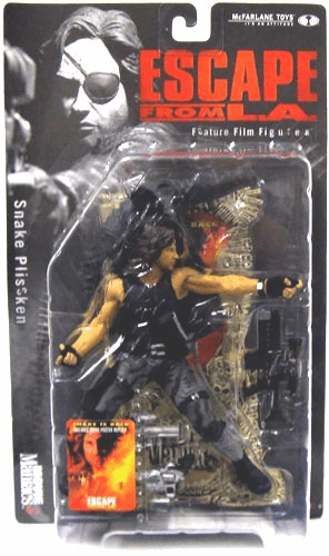 McFarlane Movie Maniacs 3 Escape from L.A. Snake Plissken Figure