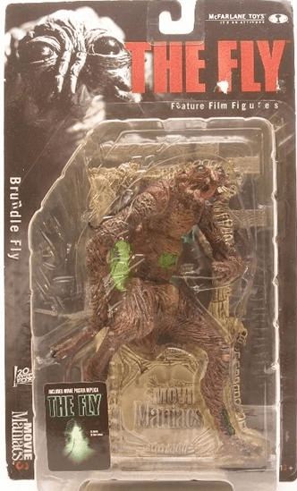 McFarlane Movie Maniacs 3 The Fly Figure
