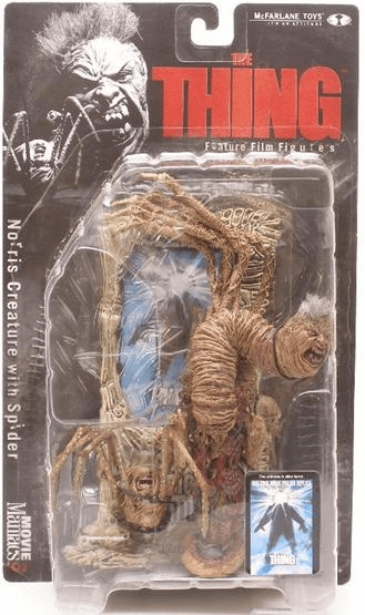 McFarlane Movie Maniacs 3 The Thing Norris Creature with Spider Figure