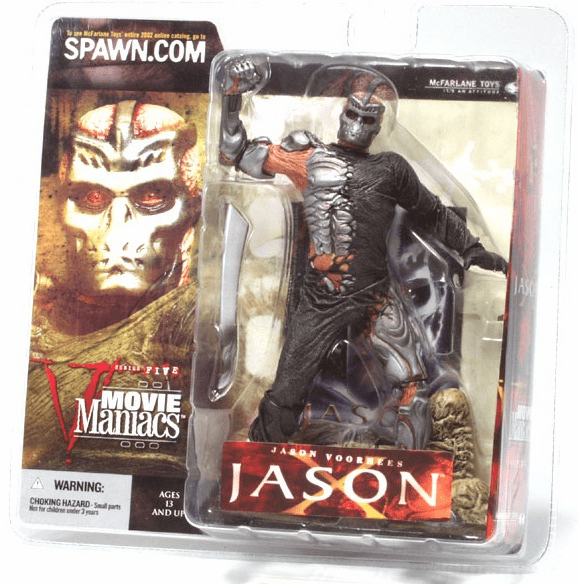 McFarlane Movie Maniacs 5 Jason X Figure