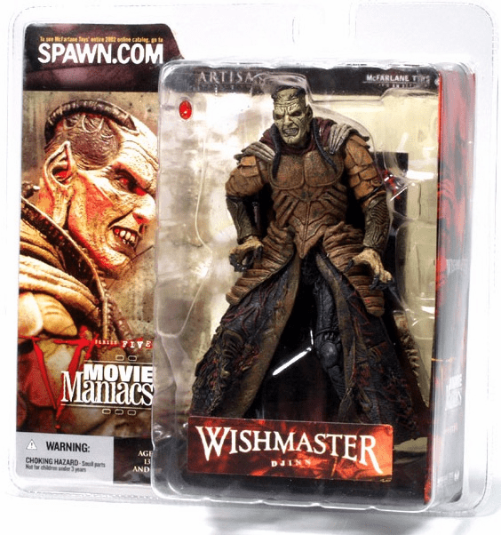 McFarlane Movie Maniacs 5 Wishmaster Djinn Figure