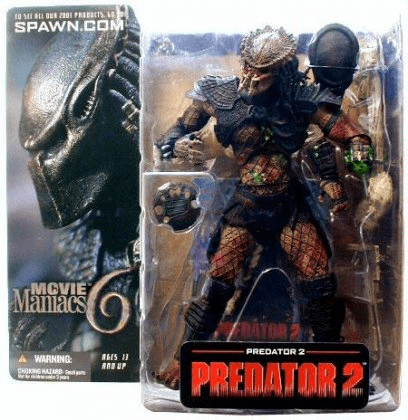 McFarlane Movie Maniacs 6 Predator 2 Predator Figure